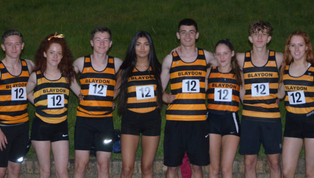 U17 relays- jarrow